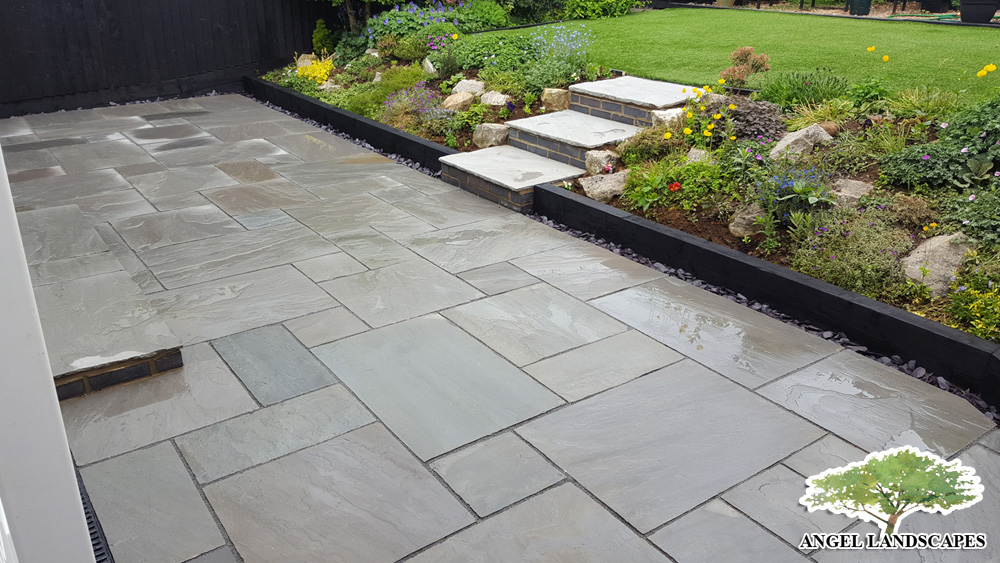 Patio Grey Sandstone
