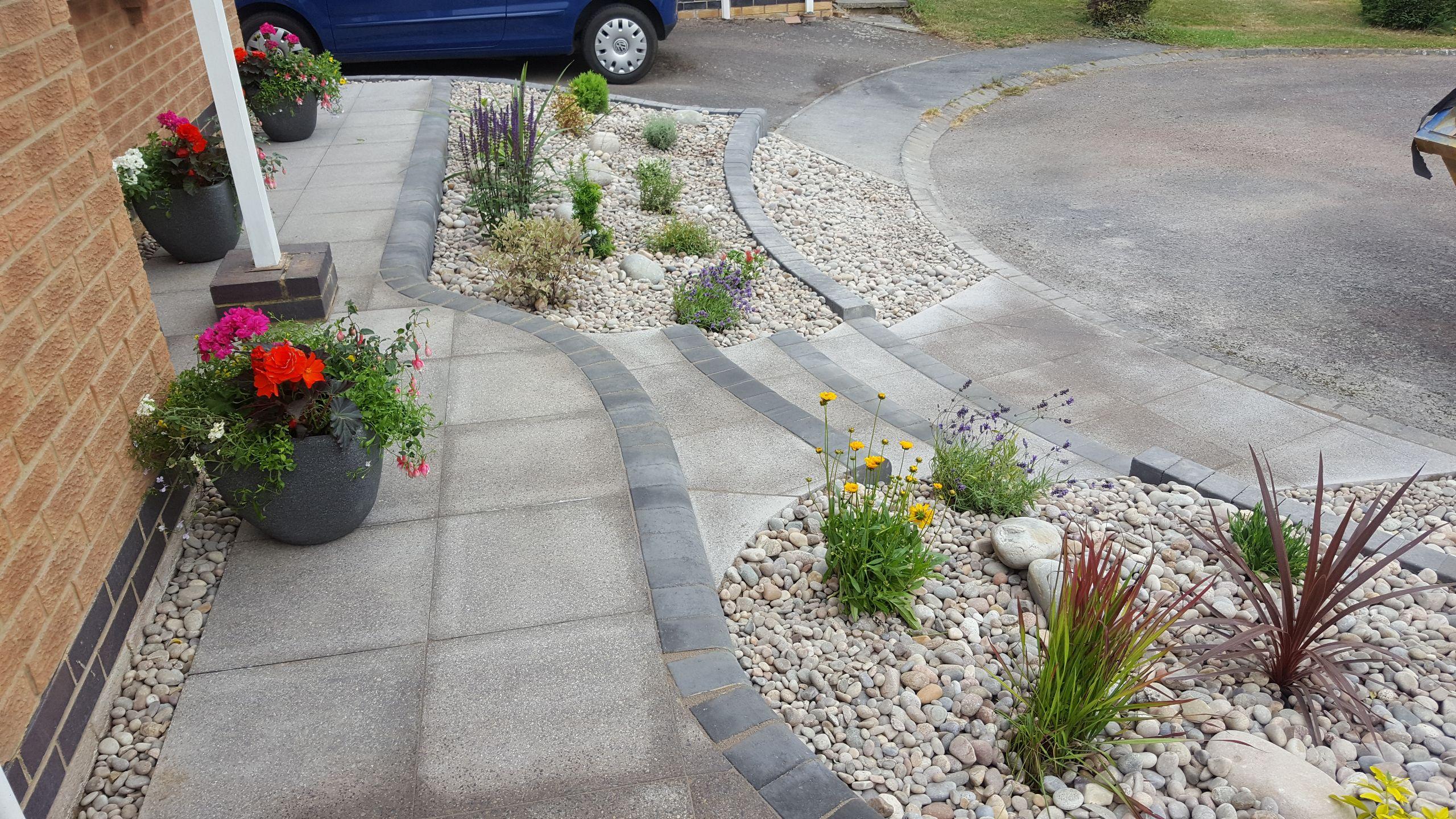 Front garden revamp