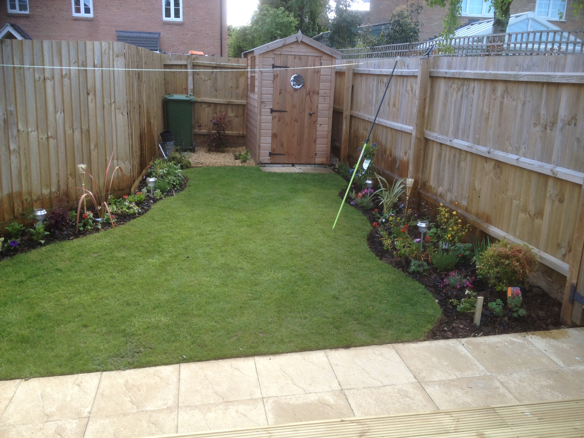 New planting scheme