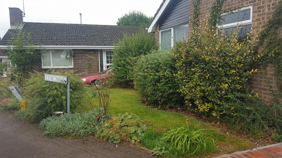 front garden transformation northants